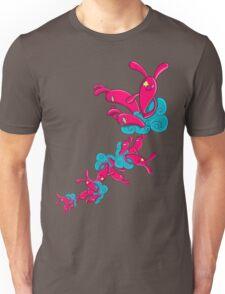 Many Rabbit on the Cloud Unisex T-Shirt