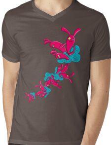 Many Rabbit on the Cloud Mens V-Neck T-Shirt
