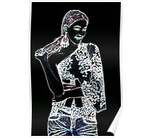 Fashion Girl Fine Art Print Poster