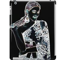Fashion Girl Fine Art Print iPad Case/Skin