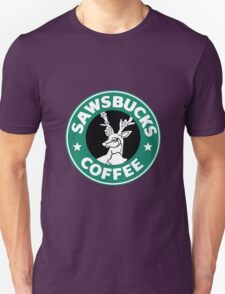 Sawsbucks Coffie Unisex T-Shirt