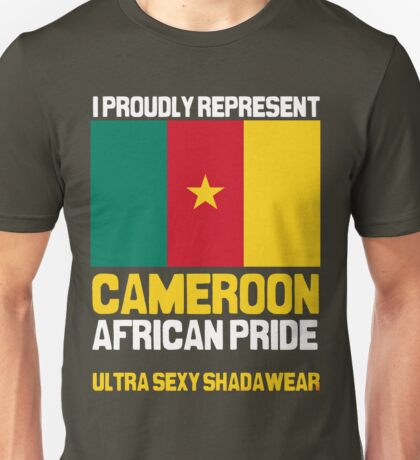 Cameroon, represent proudly T-Shirt