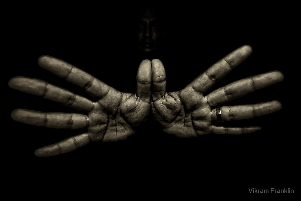 Hands that click the camera by Vikram Franklin