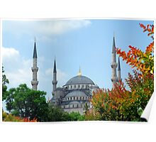 Blue Mosque, Istanbul, Turkey Poster
