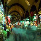 Egyptian Spice Bazaar - Istanbul, Turkey by SebastianPhoto