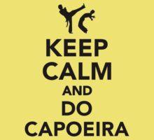 Keep calm and do Capoeira One Piece - Short Sleeve