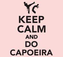 Keep calm and do Capoeira Kids Tee