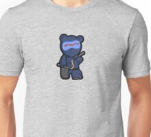 Beware the ninja bear warrior... SHINOBEAR! Unisex T-Shirt