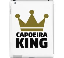 Capoeira king iPad Case/Skin