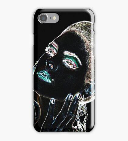Angel Face Fine Art Print iPhone Case/Skin