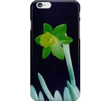Daffodil Green iPhone Case/Skin