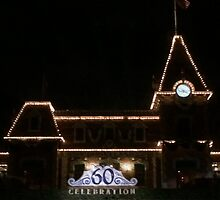 Disney Train Station 60th Anniversary  by doodlewizard