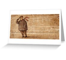 A Cold Wind Blew That Day Greeting Card