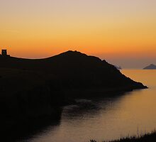 Cornwall: Doyden Silhouette by Rob Parsons