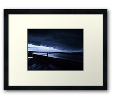 Run Faster! Framed Print