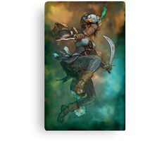 Fantasy Sword Saint Canvas Print