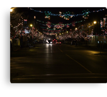 Ladysmith Lights Up! Canvas Print