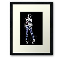 Fashion Model Fine Art Print Framed Print