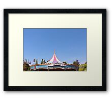 King Arthur Carrousel  Framed Print