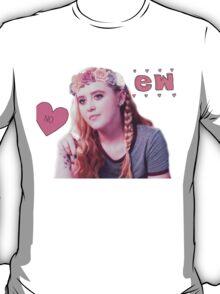 Claire Novak + Flower Crown T-Shirt