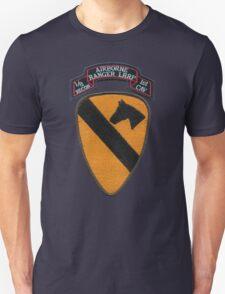 1st Cav ranger,airborne,LRRP patch T-Shirt