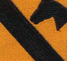 1st Cav ranger,airborne,LRRP patch Sticker