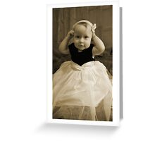 Take it off MOMMY! Greeting Card