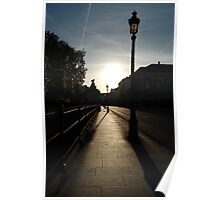 French Sunset Poster