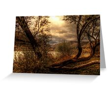 Sneak a Peek at the Snake River  Greeting Card