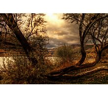 Sneak a Peek at the Snake River  Photographic Print