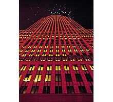 """""""The Seagulls Holiday Highrise Feast"""" Photographic Print"""