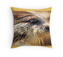 .....By A Whisker... Throw Pillow