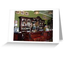 Bohemian Coffee House Greeting Card