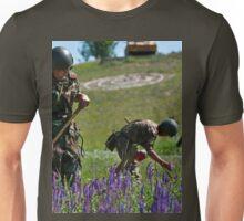 a beautiful Kyrgyzstan landscape Unisex T-Shirt