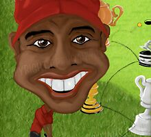 Tiger Woods by Brendan Williams