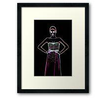 High Fashion Dress Fine Art Print Framed Print