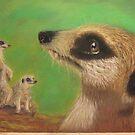 Meerkat Abeline by Hilary Robinson