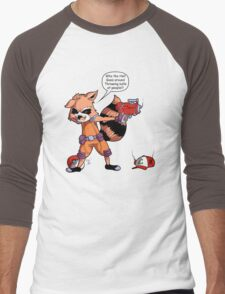 Rocket Raccoon...Usaur? Men's Baseball ¾ T-Shirt