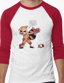 Rocket Raccoon...Usaur? Men's Baseball ¾ T-Shirt