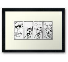 """VIKINGS """"the land"""" Framed Print"""