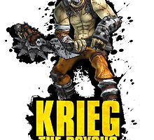 Krieg - Borderlands by selman14