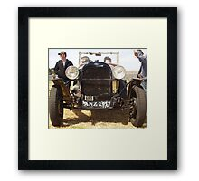 Dear dad... can i get another car? Framed Print