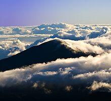 Day break at Haleakalā National Park Summit Area by Scott Englund