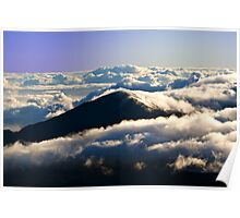 Day break at Haleakalā National Park Summit Area Poster