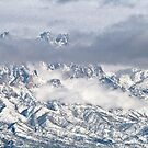 Snowstorm In The Organ Mountains by David DeWitt