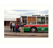 Bus To Chaco - Argentina Art Print