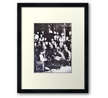 Studying With Toulouse-Lautrec. (Time Travel) Framed Print