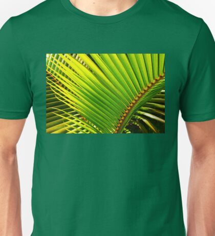 Tropical Palm Leafs Unisex T-Shirt