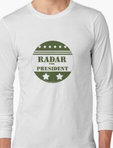 For President Radar Long Sleeve T-Shirt