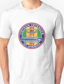Vietnam vet emblem. Unisex T-Shirt